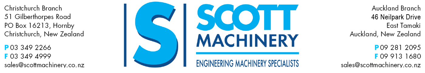 Scott Machinery Letterhead